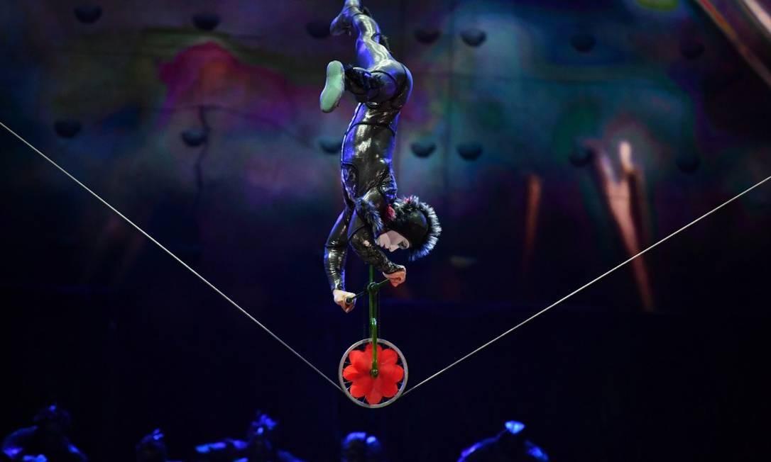 O Espetáculo 'OVO' do Cirque du Soleil Foto: Infoglobo
