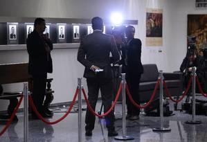 Jornalistas em Brasília Foto: Jorge William / Agência O Globo