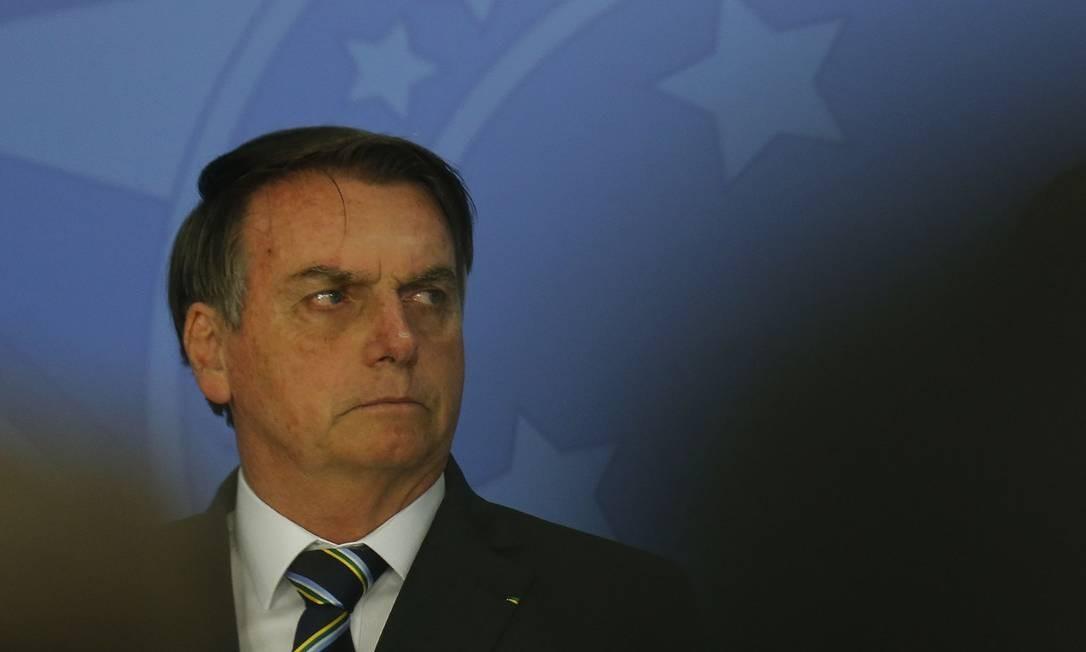 Presidente Jair Bolsonaro Foto: Jorge William / Agência O Globo