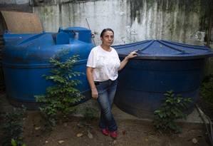 Lisia Carla Jacques: nem bomba mais potente nem cisterna maior resolveram problema Foto: Bruno Kaiuca / Agência O Globo