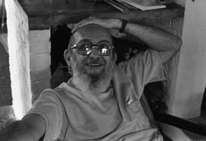 O educador pernambucano Paulo Freire, cuja obra é estudada no mundo todo Foto: Arquivo O Globo / 08-8-1979 / Agência O Globo