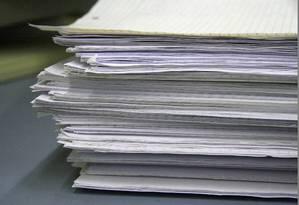 Papelada: excesso de regras e normas marca burocracia no Brasil Foto: Pixabay