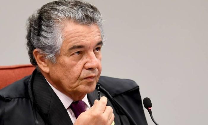 O ministro Marco Aurélio Mello, do Supremo Tribunal Federal Foto: Evaristo Sá / AFP