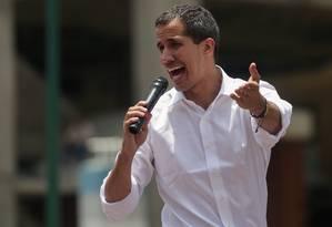 Líder opositor venezuelano, Juan Guaidó Foto: CRISTIAN HERNANDEZ / AFP