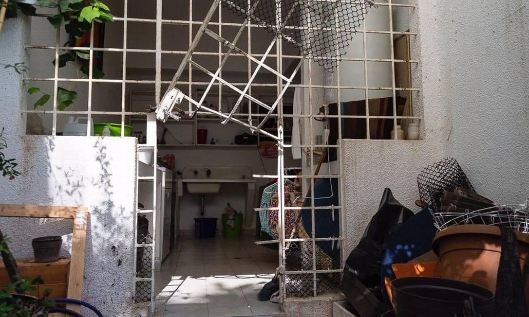 Casa de Leopoldo López foi invadida em roubada em Caracas Foto: Reprodução/Twitter