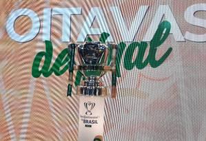 Taça da Copa do Brasil Foto: Igor Siqueira