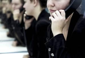 Projeto de lei determina que chamadas de telemarketing sejam gravadas e guardadas por 180 dias Foto: Leo Martins/03-06-2016