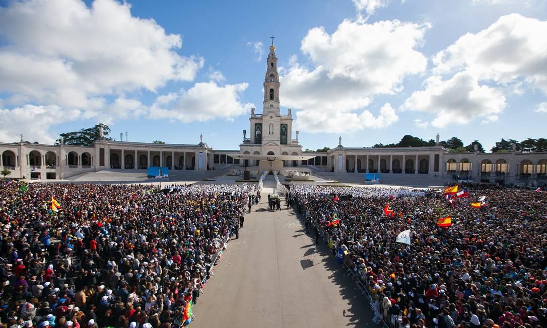 Visita do Papa Francisco ao Santuário de Fátima Foto: Luis de Oliveira/Divulgação