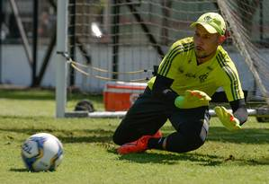 Diego Alves é dúvida no Flamengo Foto: Divulgação