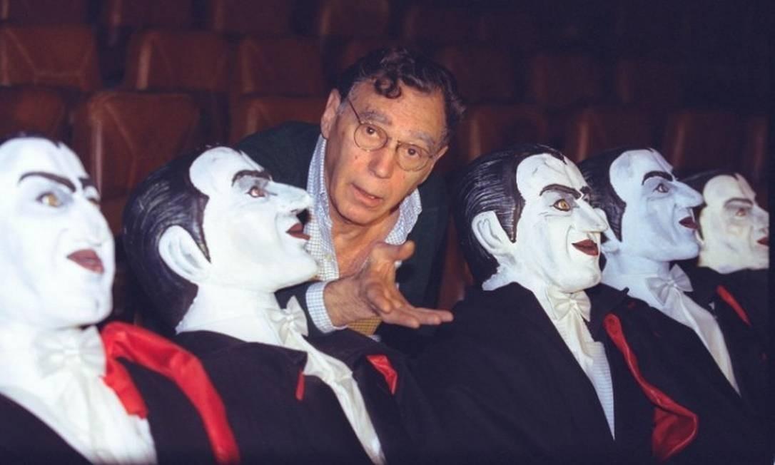 O diretor Antunes Filho, um dos maiores nomes do teatro brasileiro, morreu aos 89 anos em São Paulo Foto: Marco Antônio Teixeira / O Globo