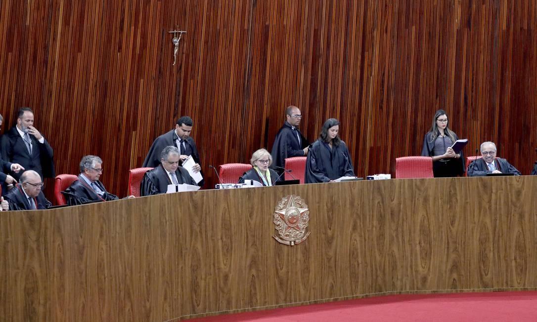 Sessão plenária do Tribunal Superior Eleitoral 30/04/2019 Foto: Roberto Jayme / Ascom /TSE