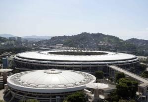 Fla e Flu não abrem mão de mandarem no Maracanã os jogos que antecedem o torneio continental Foto: Delmiro Junior/Photo Premium / Agência O Globo