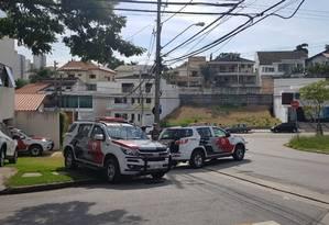 Promotores do Gaeco e policiais militares cumprem mandados de prisão e busca e apreensão na região de Sorocaba Foto: Divulgação/ PM