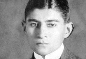 Franz Kafka aos 17 anos, em 1910, um ano após iniciar seus diários Foto: Reprodução