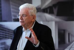 Simon Schwartzman, sociólogo Foto: Leo Pinheiro / Agência O Globo