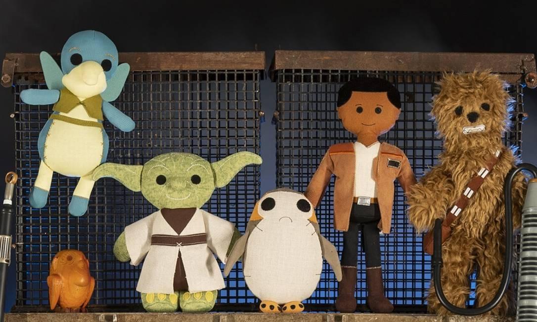 Personagens de pelúcia na loja Toydarian Toymaker Foto: David Roark/Disney Parks / Divulgação