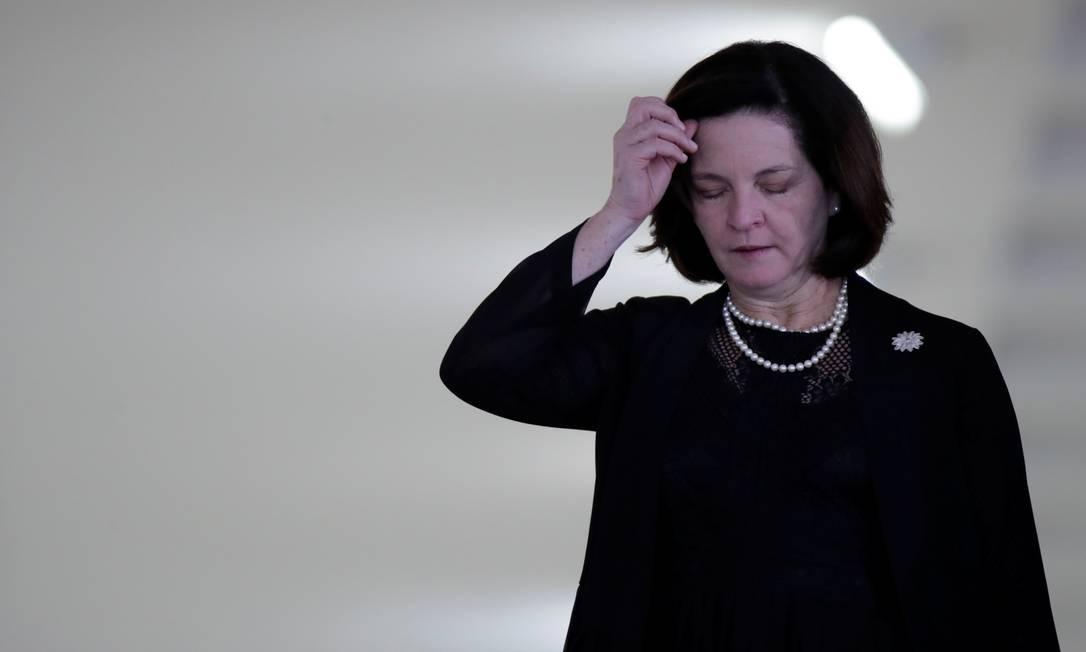 A procuradora-geral da República, Raquel Dodge, Foto: UESLEI MARCELINO / Reuters