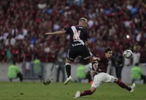 Vasco fez acordo pontual para a final do Carioca Foto: Alexandre Cassiano