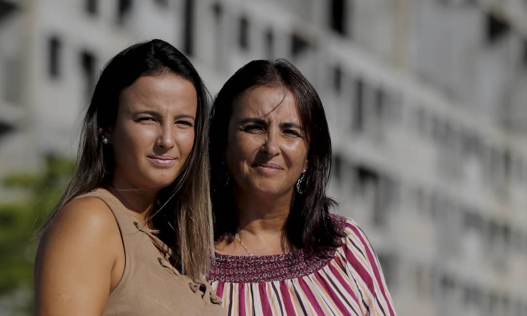 Carla Arruda comprou um imóvel para filha Karen, mas nunca recebeu as chaves: receberá o valor pago e indenização pelo tempo perdido Foto: / Marcelo Theobald/Agência O Globo