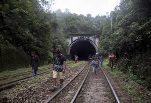 Índios viraram acionistas da Rumo Logística para lutar pelos direitos de sua aldeia Foto: Pedro Biava / Agência O Globo