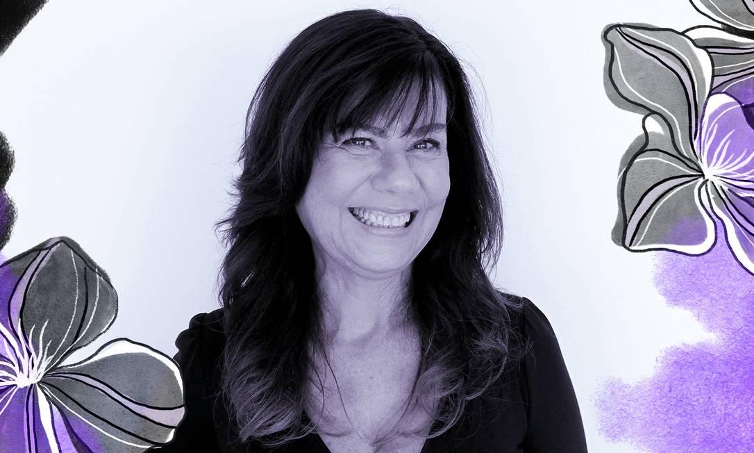 Mirian Goldenberg, antropóloga e professora titula da UFRJ Foto: Arte de Ana Luiza Costa sobre foto divulgação
