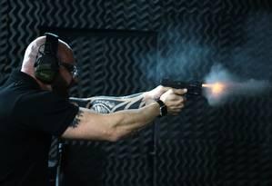 Registro de atiradores e colecionadores de armas de fogo cresce 879% em cinco anos Foto: Jorge William - Agência O Globo