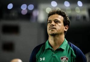 Fernando Diniz, treinador do Fluminense Foto: Lucas Merçon/Fluminense/Divulgação