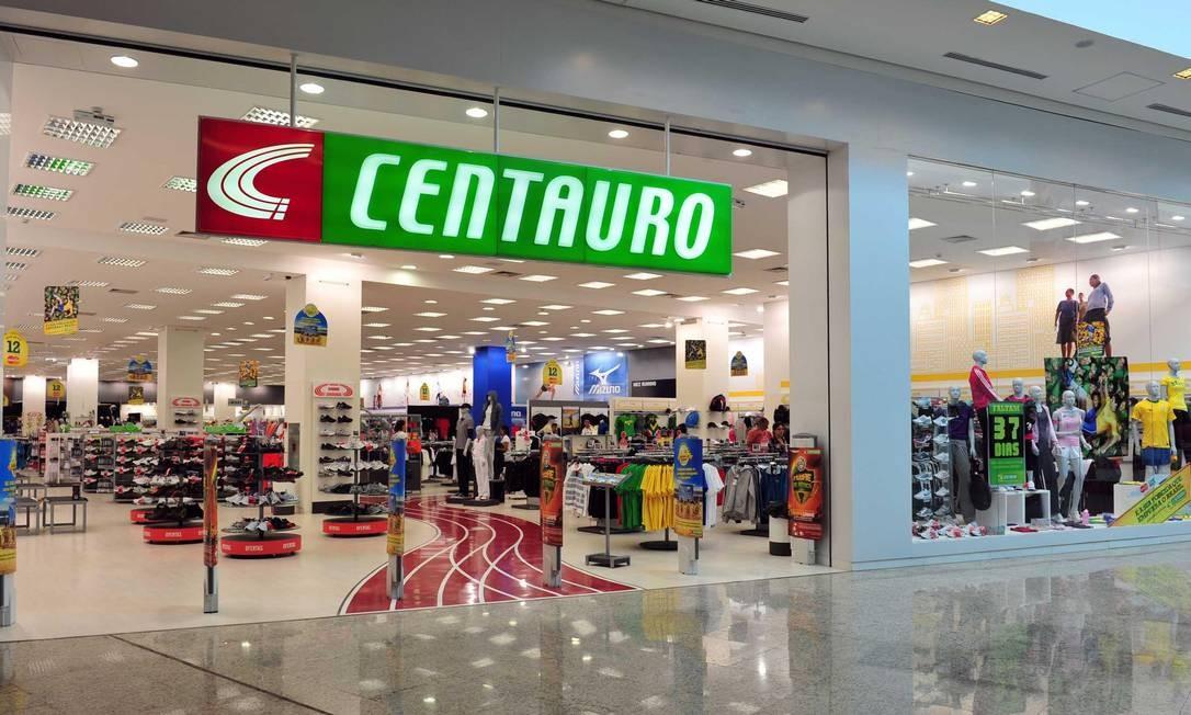Loja da Centauro em shopping center Foto: Arquivo/4-10-2016