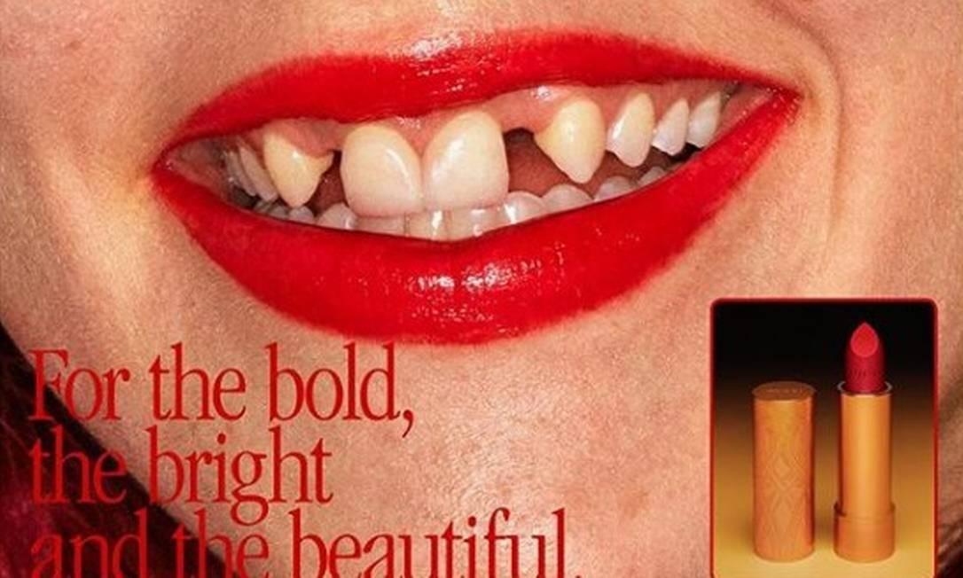 A nova campanha de beleza da Gucci Foto: Divulgação