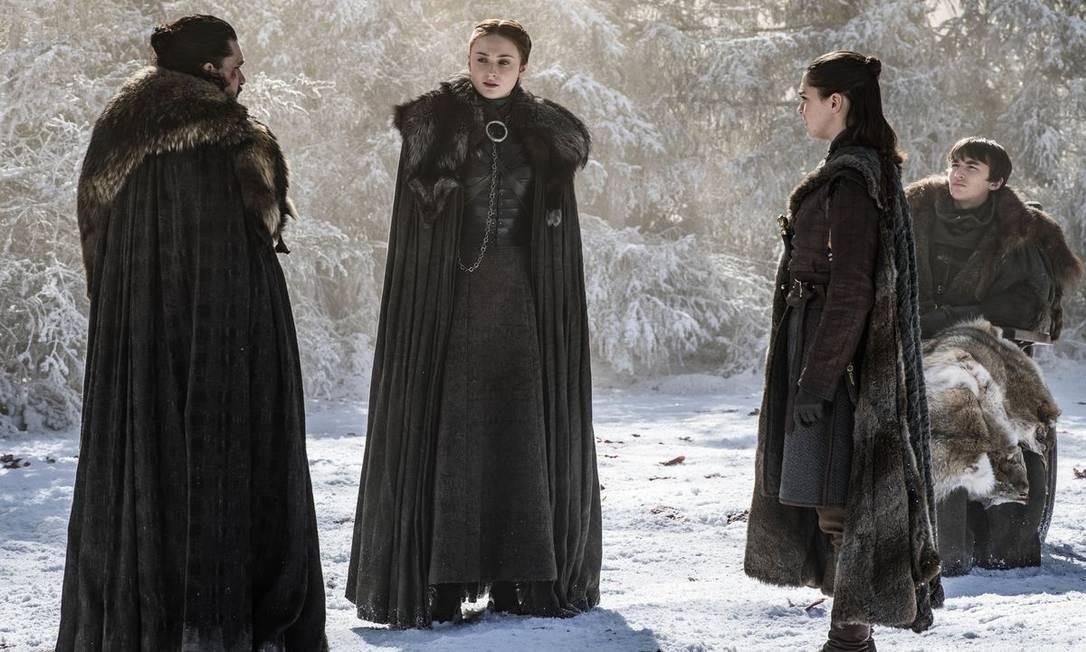Cena do episódio The Last of the Starks Foto: Divulgação