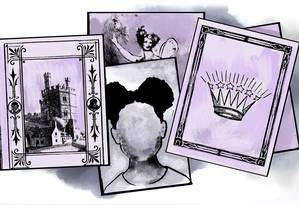 O número de livros infanto-juvenis com protagonistas negros não corresponde ao quantitativo dessa parcela da população brasileira: 54% Foto: Arte de Alessandro Alvim