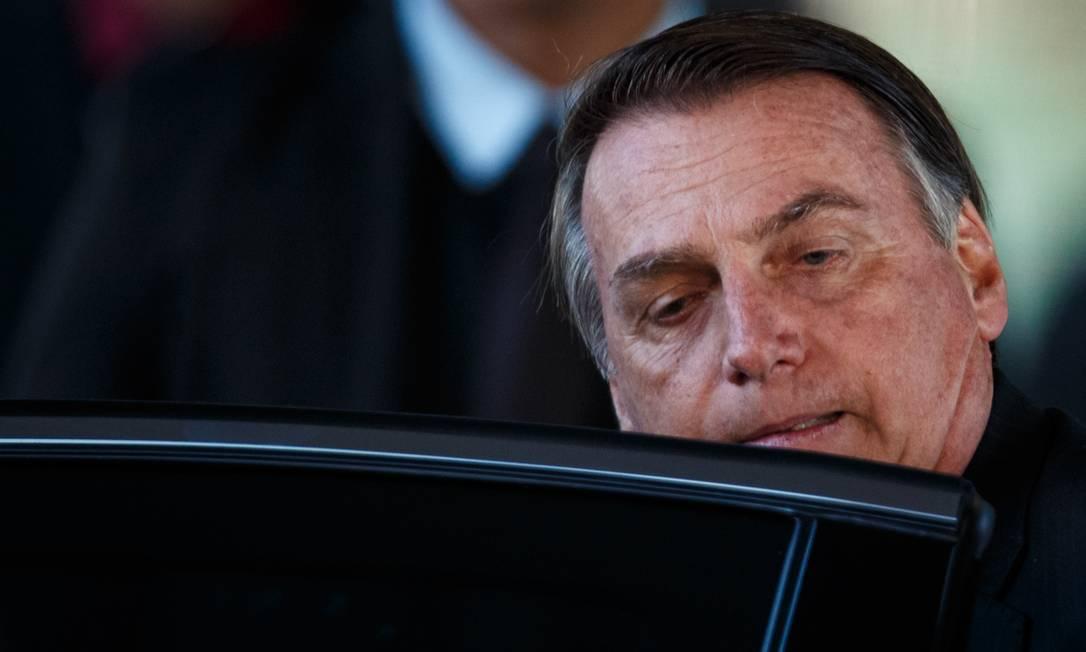 O presidente Jair Bolsonaro 06/05/2019 Foto: Daniel Marenco / Agência O Globo