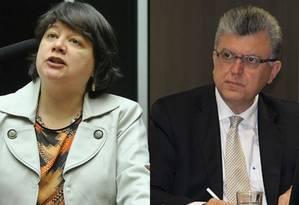 Subprocuradora Luiza Frischeisen e subprocurador Mário Bonsaglia Foto: Divulgação