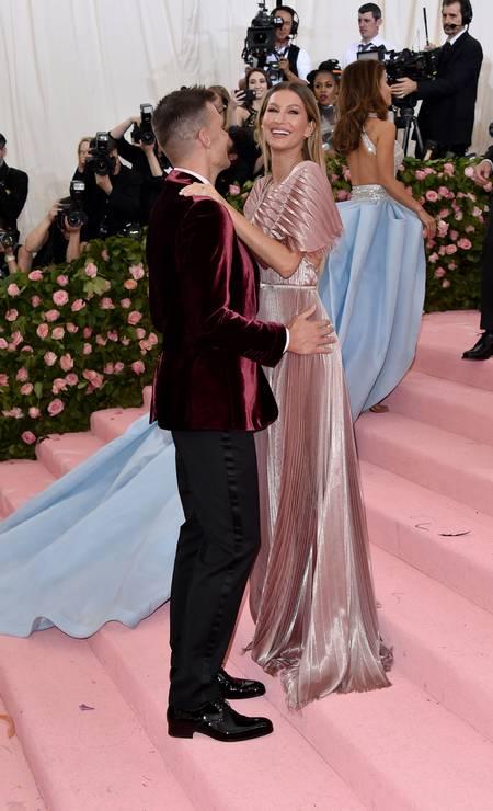 Mais de Tom Brady e Gisele Bündchen Foto: John Shearer / Getty Images for THR
