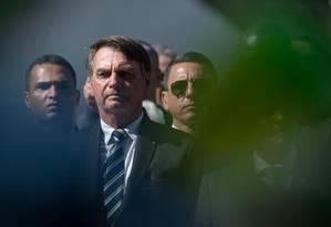 O presidente Jair Bolsonaro Foto: Mauro Pimentel / AFP