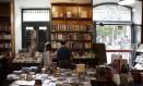 Livraria Arlequim, no Paço Imperial, fecha as portas no dia 18 de maio Foto: Gustavo Miranda / Agência O Globo