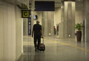 Aeroporto Internacional Tom Jobim (Galeão), no Rio de Janeiro Foto: Gabriel Monteiro / Agência O Globo