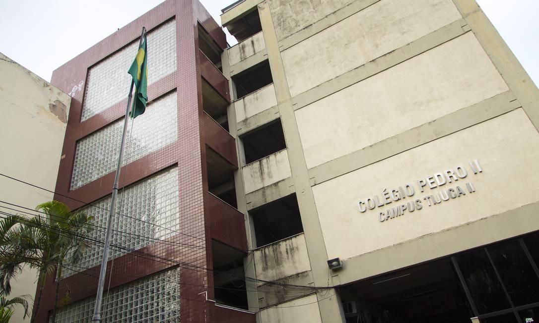 O Campus Tijuca II do Colégio Pedro II Foto: Leo Martins / Agência O Globo