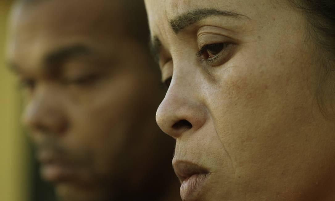 Bruna da Silva, mãe de Marcos Vinícius, em 2018 Foto: Antonio Scorza / Agência O Globo