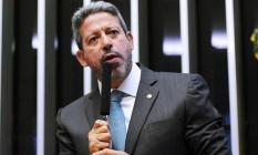 O presidente da câmara Arthur Lira (PP-AL) Foto: Agência O Globo
