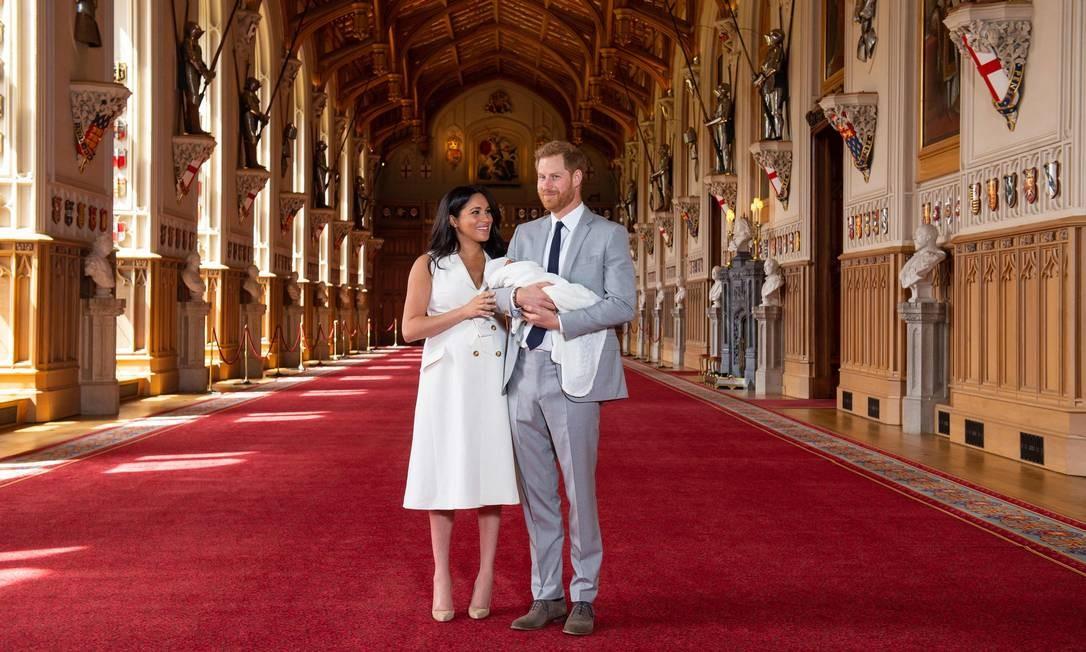 Bebê real foi apresentado nesta quarta-feira Foto: DOMINIC LIPINSKI / AFP