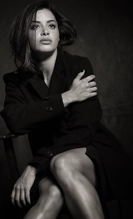 A modelo Aline Riscado Foto: Aderi Costa