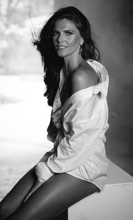 A modelo Daniella Sarahyba Foto: Aderi Costa