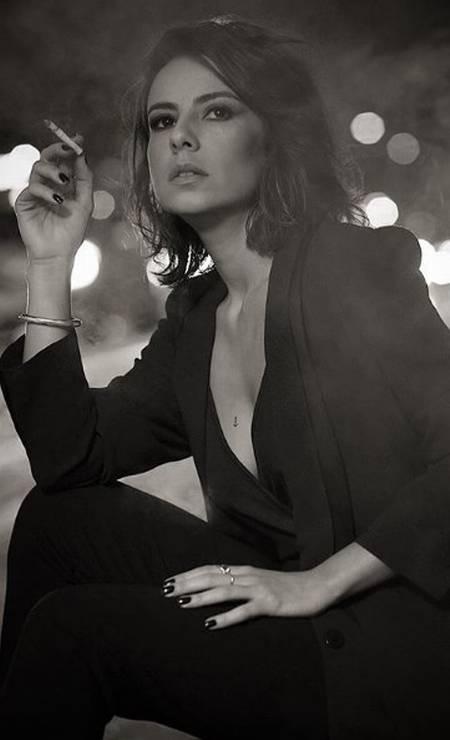A atriz Andréia Horta Foto: Aderi Costa