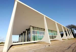 A sede do Supremo Tribunal Federal (STF) em Brasília Foto: Divulgação / STF