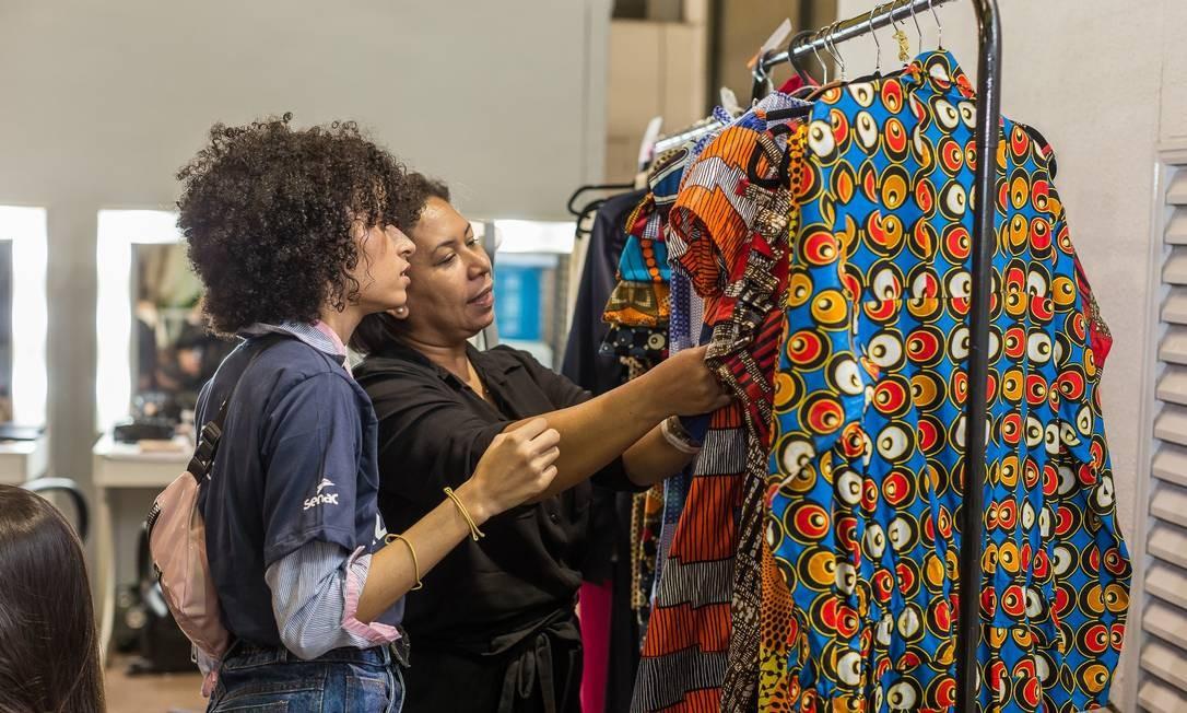 Senac RJ é referência em formação para o mercado de moda no Rio Foto: Marco Sobral