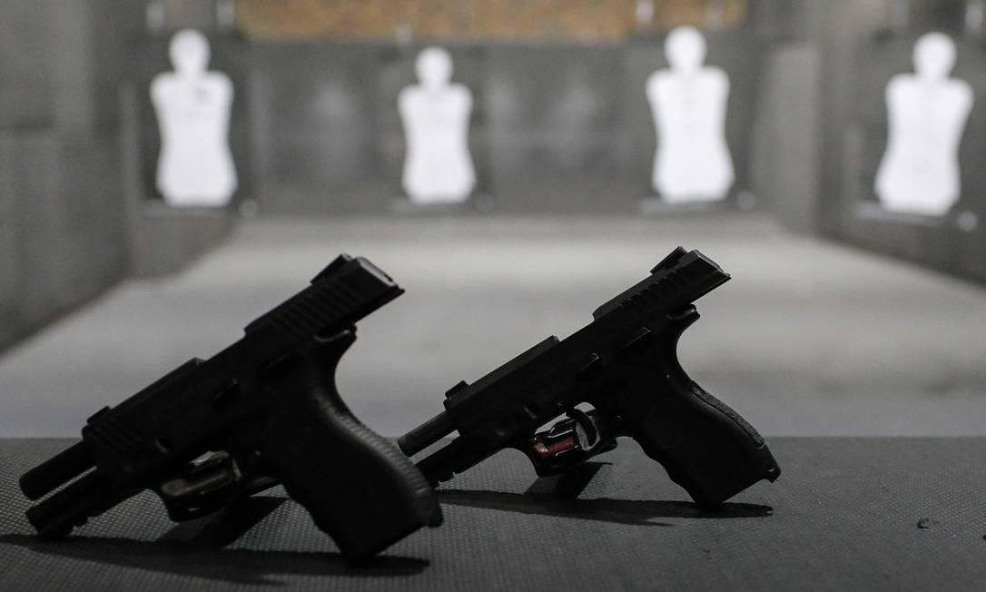Crianças poderão praticar aulas de tiros sem autorização judicial Foto: Edilson Dantas / Agência O Globo