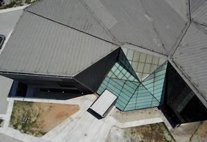 Vista aérea do Parque Tecnológico da UFRJ, na Ilha do Fundão Foto: Custódio Coimbra / Agência O Globo
