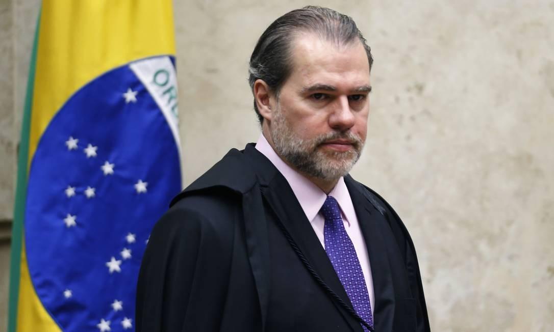 Ministro Dias Toffoli, presidente do Supremo Tribunal Federal (STF). Foto: Jorge William / Agência O Globo