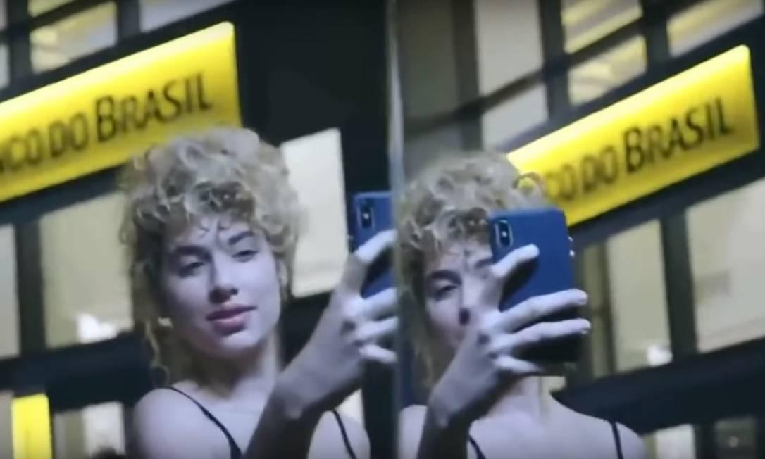 Cena do comercial do Banco do Brasil vetado pelo Palácio do Planalto Foto: Reprodução